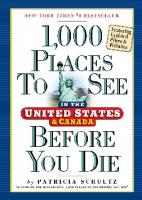 1,000 Places to See in the United States & Canada Before You Die [Updated]
