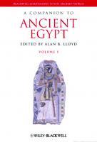 A Companion to Ancient Egypt [1]
