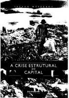 A crise estrutural do capital [2ed.]  9788575591567