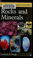 A Field Guide to Rocks and Minerals  0395910978