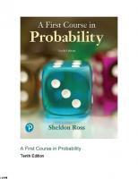 A First Course in Probability (10th Edition) [10ed.]  0134753119, 9780134753119