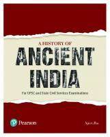 A History of Ancient India [For UPSC and State Civil Services Examinations]