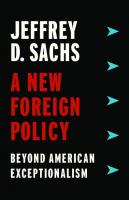 A New Foreign Policy: Beyond American Exceptionalism  9780231188494,  9780231188487,  9780231547888
