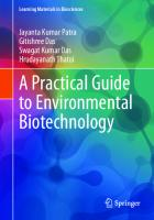 A Practical Guide to Environmental Biotechnology [1st ed.]