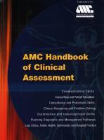 AMC Handbook of Clinical Assessment  9781875440382