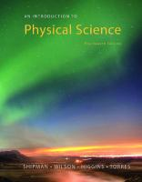 An Introduction to Physical Science [14thed.]  1305079132, 9781305079137