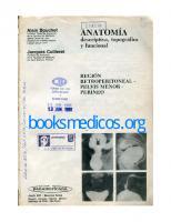 Anatomia Descriptiva Topografica Y Funcional