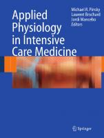 Applied Physiology in Intensive Care Medicine  2006930741
