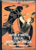 Arte Y Mito En La Antigua Grecia