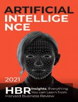 Artificial Intelligence: 2021 HBR Insights. Everything You can Learn from Harvard Business Review