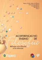As diferenças no ensino de filosofia: reflexões sobre filosofia e/da educação [1ed.]  9788556961884