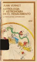 Astrologia Y Astronomia En El Renacimiento