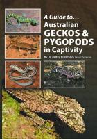 Australian Geckos and Pygopods In Captivity  0987244736