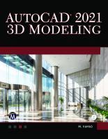 AutoCAD 2021 3D Modelling  1683925254, 9781683925255