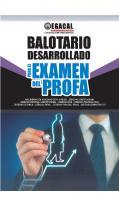 BALOTARIO DESARROLLADO PARA EL EXAMEN DEL PROFA [PRIMERA EDICIÓN]
