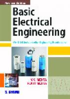 Basic Electrical Engineering [6thed.]  812190871X, 9788121908719