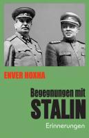 Begegnungen mit Stalin. Erinnerungen  3881962107