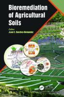 Bioremediation of agricultural soils  9781138651913, 1138651915