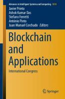 Blockchain And Applications: International Congress  3030238121,  9783030238124