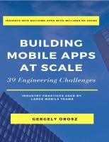 Building Mobile Apps at Scale(2021)[Orosz][9781637958445]  9781637958445