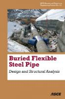 Burried Flexible Steel Pipe: Design and Structural Analysis