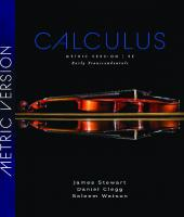Calculus, Early Transcendentals, International Metric Edition [9ed.]  9780357113516