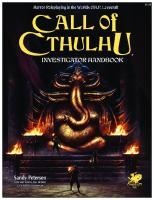 Call of Cthulhu Investigator Handbook 7th Edition  9781568824314, 1568824319