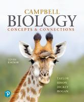 Campbell Biology: Concepts & Connections [RENTAL EDITION] (10th Edition) [10ed.]  0135269164, 9780135269169