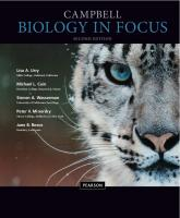 Campbell Biology in Focus [2nded.]  978-0321962751,  0321962753