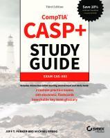 Casp+ Comptia Advanced Security Practitioner Study Guide : Exam Cas-003  9781119477648, 1119477646, 9781119477716, 9781119477679