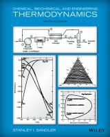 Chemical, Biochemical, and Engineering Thermodynamics [5ed.]  9780470504796, 047050479X