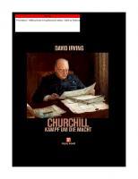Churchill: Kampf um die Macht