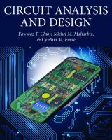 Circuit Analysis and Design  9781607854838, 9781607854845