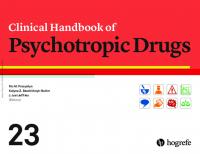 Clinical Handbook of Psychotropic Drugs [23ed.]  0889375615, 9780889375611