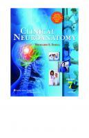 Clinical neuroanatomy [7ed.]  9780781794275, 0781794277