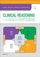 Clinical Reasoning in the Health Professions [4th ed.]