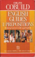 Collins COBUILD English Guides 1: Prepositions  000370520X