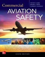 Commercial aviation safety [Sixth edition.]