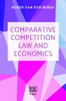 Comparative Competition Law and Economics  9781786438300