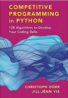 Competitive Programming in Python: 128 Algorithms to Develop your Coding Skills [1ed.]  9781108716826, 1108716822