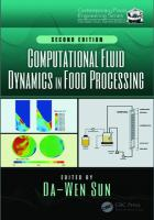 Computational fluid dynamics in food processing [Second edition]