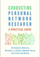 Conducting Personal Network Research: A Practical Guide  146253838X, 9781462538386