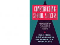 Constructing School Success: The Consequences of Untracking Low Achieving Students  0521568269, 9780521568265