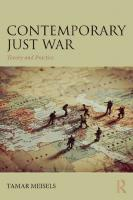 Contemporary Just War: Theory and Practice  1138043664, 9781138043664