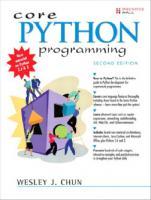 Core Python Programming [2nd Edition]  0132269937, 9780132269933