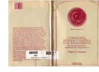 Cosmologia Religion Y Politica En El Renacimiento
