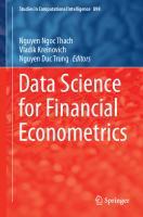 Data Science for Financial Econometrics  3030488527, 9783030488529