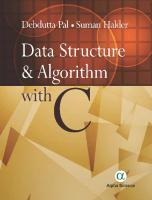 Data structures and algorithms with C