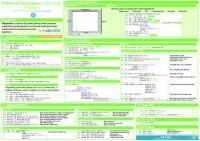 DataCamp Matplotlib Cheat heet