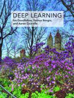 Deep learning: adaptive computation and machine learning  0262035618, 9780262035613